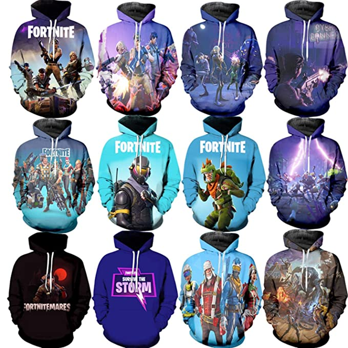 Amazon.com: Battle Royal Game Hip Hop Unisex Hoodie Sudadera Streetwear 3D Printing: Clothing