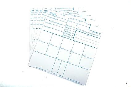 Amazon Fingerprint Cards Applicant Fd 258 5 Cards Home Kitchen