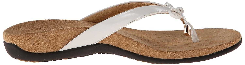 Vionic Women's Rest BellaII Toepost Sandal B0733NRV6D 8.5 N US White