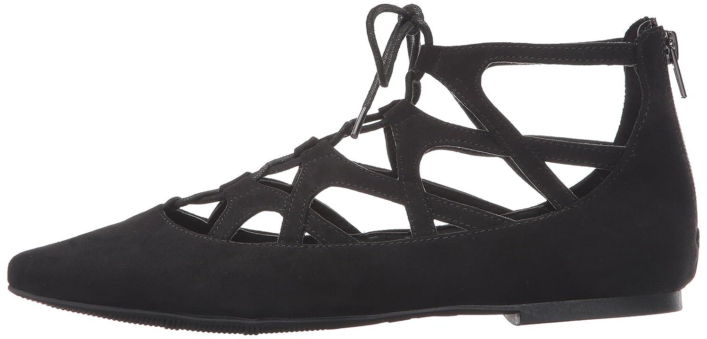 MIA Women's Anamarie Pointed Toe Flat B0105MU2VE 7 B(M) US|Black