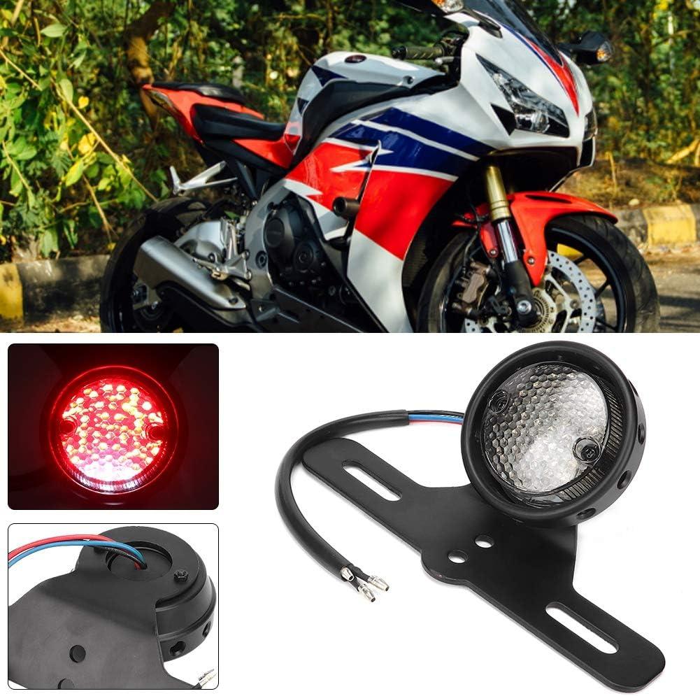Luce moto posteriore Fanalino posteriore LED con modifica della targa Fit per Yamaha Suuonee Fanale posteriore moto