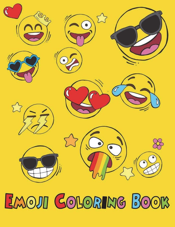 - Emoji Coloring Book: Easy Emoticon Hilarious Pages Emoji Kids Ages
