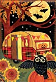 Breeze Art Halloween Camper Garden Flag #31231