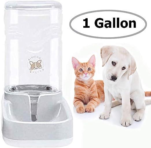 Old Tjikko - Comedero automático para gatos y bebederos de agua para animales pequeños, cuencos para perros, capacidad de 3,8 L: Amazon.es: Productos para mascotas