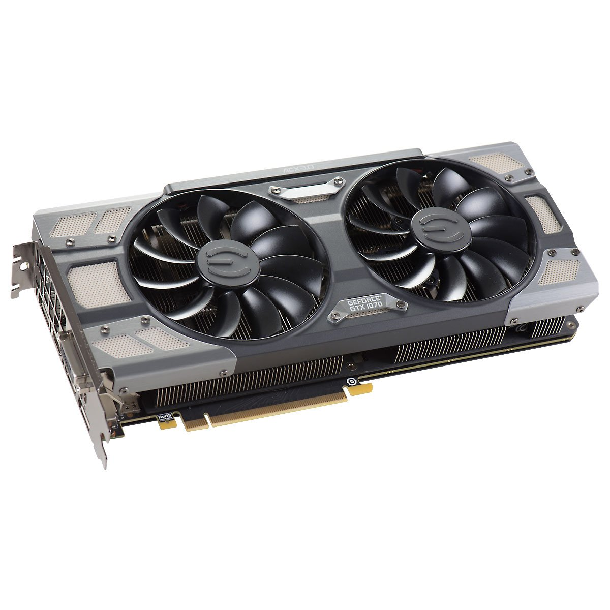 EVGA GeForce GTX 1070 FTW GAMING ACX 3.0, 8GB GDDR5, RGB LED, 10CM FAN, 10 Power Phases, Double BIOS, DX12 OSD Support (PXOC) Graphics Card 08G-P4-6276-KR by EVGA (Image #4)