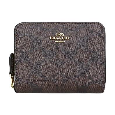5f283babb199 [コーチ] COACH 財布 (二つ折り財布) F30308 ブラウン×ブラック IMAA8 シグネチャー