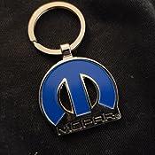 Dodge Mopar 3D Emblem Key Chain Official Licensed MH MH0055