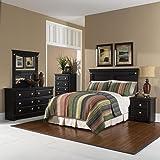 Cambridge Southampton 5 Piece Suite: Queen Bed Headboard, Dresser, Mirror, Chest, Nightstand Bedroom Furniture Sets