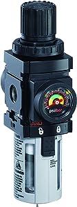 "ARO P39124-600-VS Air Filter-Regulator Piggyback, 1/4"" NPT - 150 psi Max Inlet"