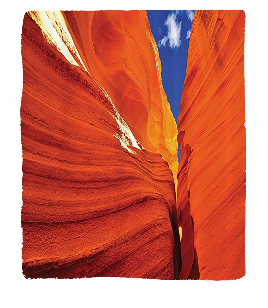 Chaoran 1 Fleece Blanket on Amazon Super Silky Soft All Season Super Plush American Lscapes etGr Canyon In Unitedtates Of America Accessories Extralong by chaoran