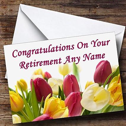 Personalizado felicitaciones sobre su tarjeta de jubilación ...