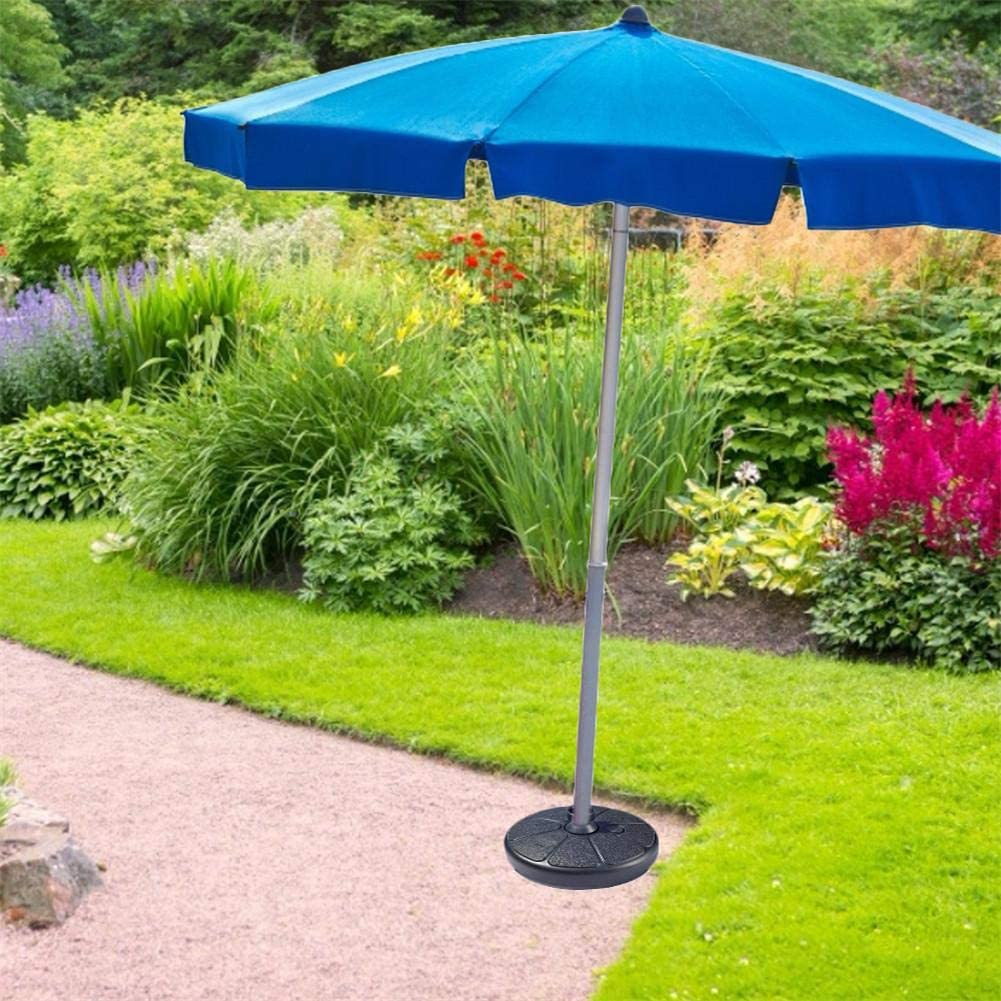 selfdepen Parasol Base Garden Parasol Base Outdoor Umbrella Base Portable Umbrella Base Can Be Filled With Water//sand To Increase Weight