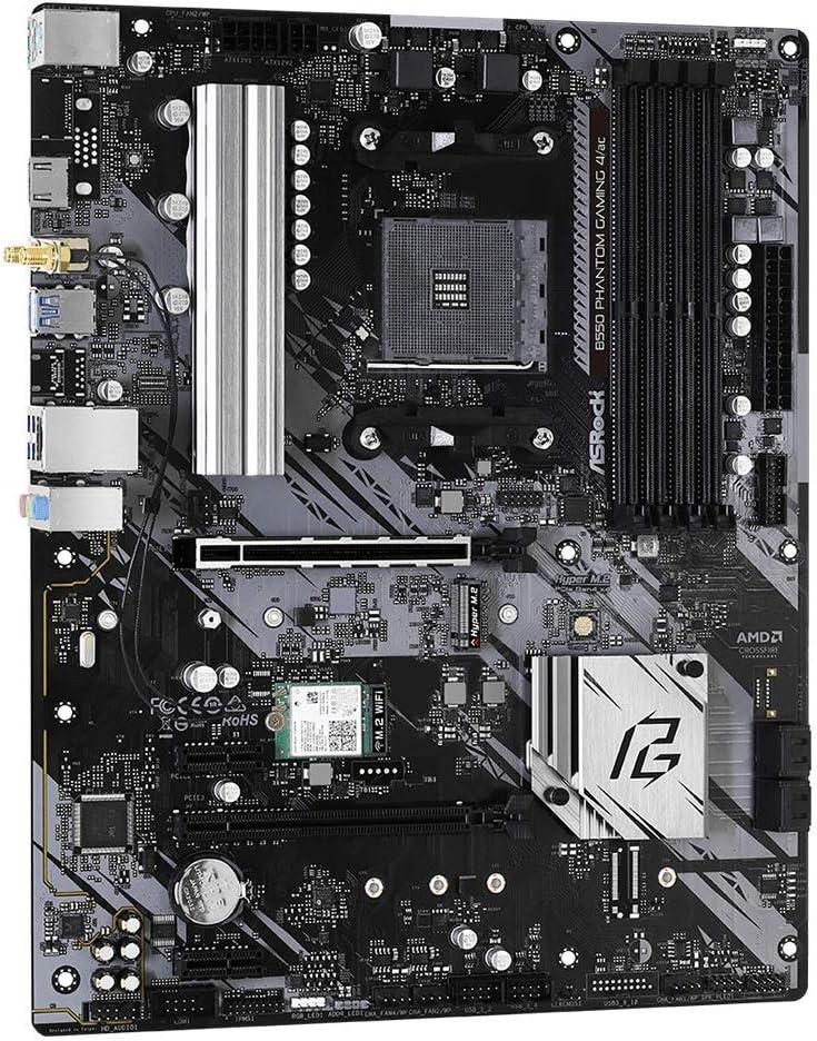 Asrock B550 Phantom Gaming 4//AC ; Prend en Charge AMD4 Ryzen PCIe 4.4