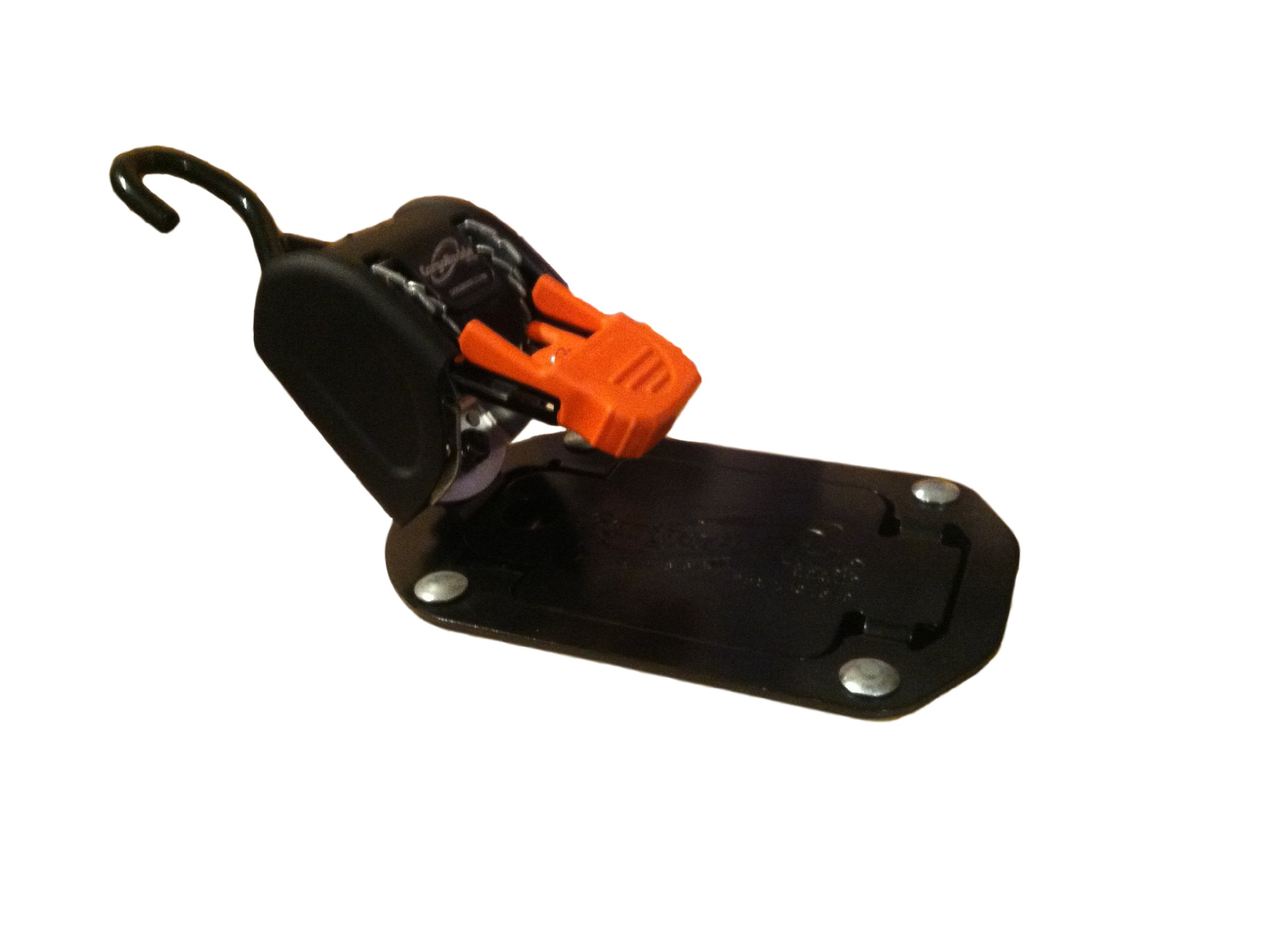 Lock N Load F18804 Black/Orange Flush Mount Bike Tie-Down Strap