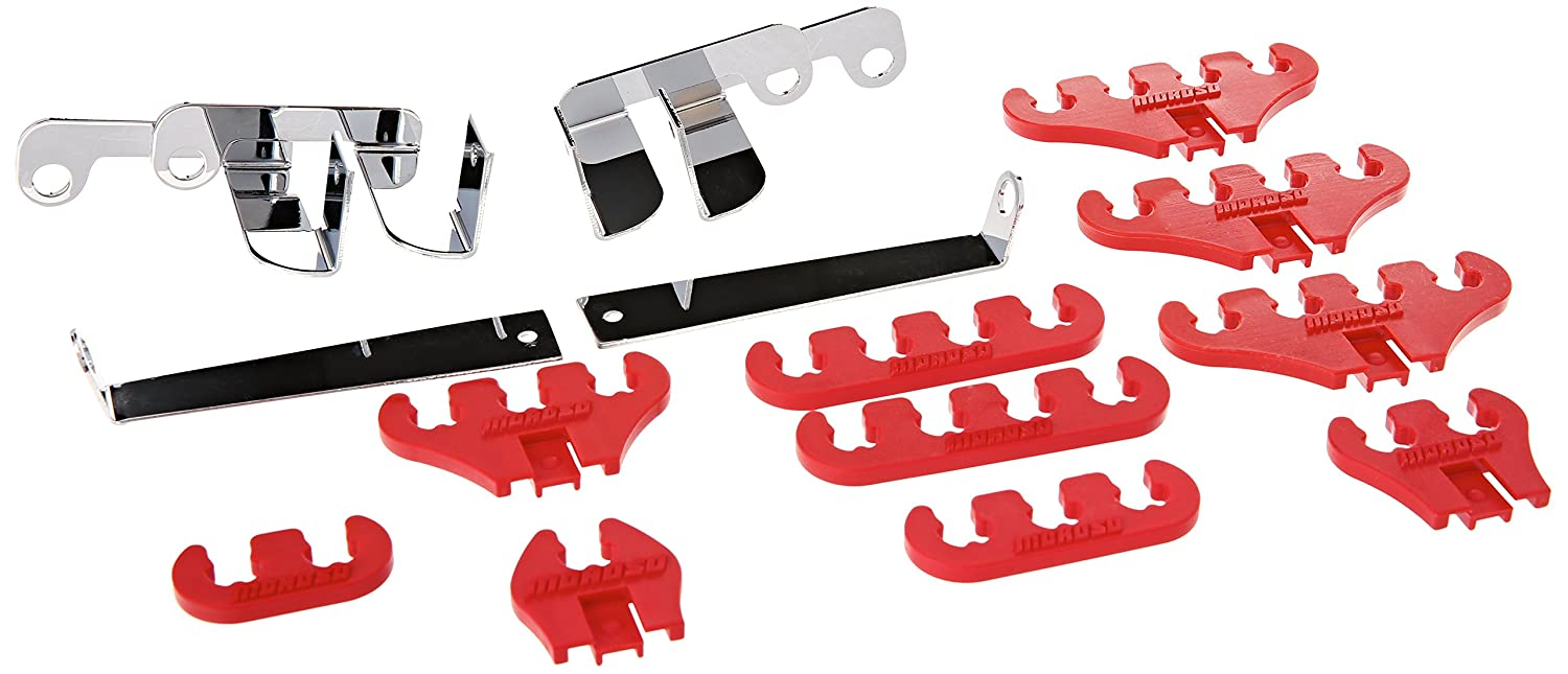 Moroso 72131 Ford Loom Kit Red 7-8 Mm'