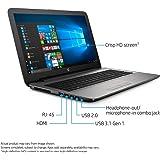 HP 15-ay196nr 15.6-Inch HD SVA WLED-backlit touch screen Laptop (Intel Core i7-7500U 2.7 GHz, 8 GB DDR4 RAM, 1 TB 5400 rpm SATA HDD, Windows 10 Home 64), Silver