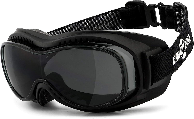 Chillout Rider Überbrille Motorradbrille Super Deal Beschlagfrei Winddicht Hlt Kunststoff Sicherheitsglas Nach Din En 166 Motorrad Überbrille Cr006 A Auto