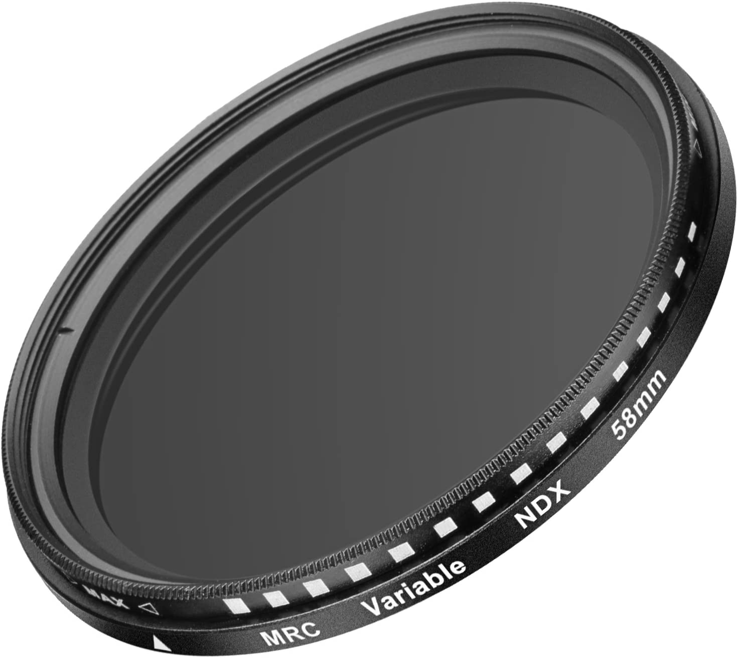 Made of Optical Glass and Aluminum Alloy Frame Neewer 58MM Ultra Slim ND2-ND400 Fader Neutral Density Adjustable Lens Filter for Camera Lens with 58MM Filter Thread Size