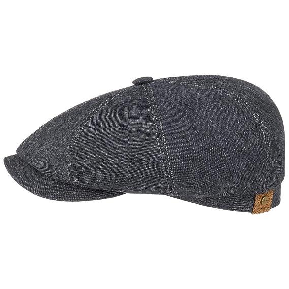 c0d2cf777a6 Stetson Hatteras Men s Women s Linen Flat Cap