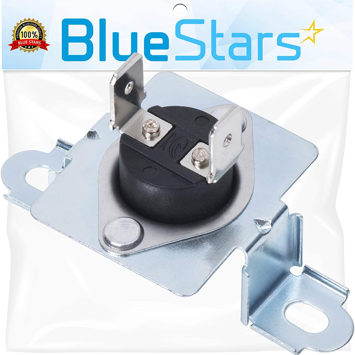 137032600 Dryer Thermal Limiter Replacement part by Blue Stars - Exact Fit for Frigidaire & Electrolux Dryers - Replaces 137060800, 7137032600