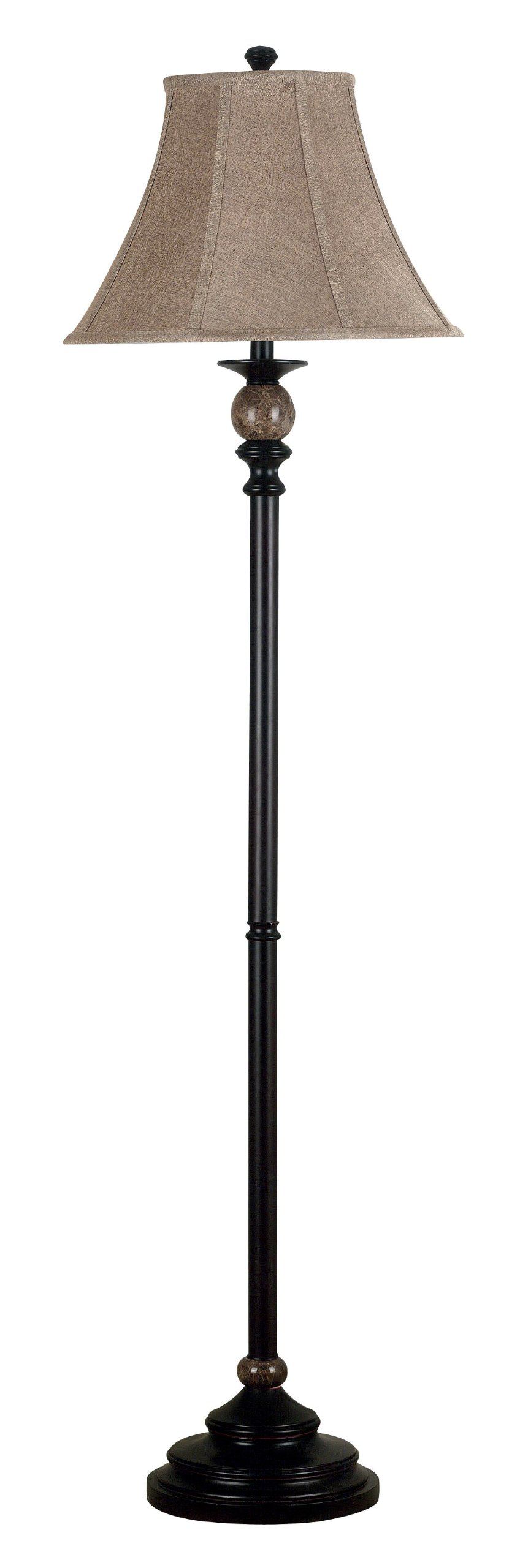 Kenroy Home 20631ORB Plymouth Floor Lamp, Oil Rubbed Bronze