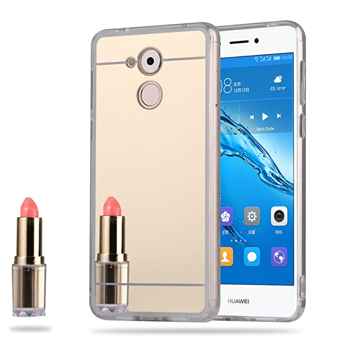 4 opinioni per LXHGrowH Cover Huawei Nova Smart, Custodia a Specchio per Huawei Nova Smart Gel