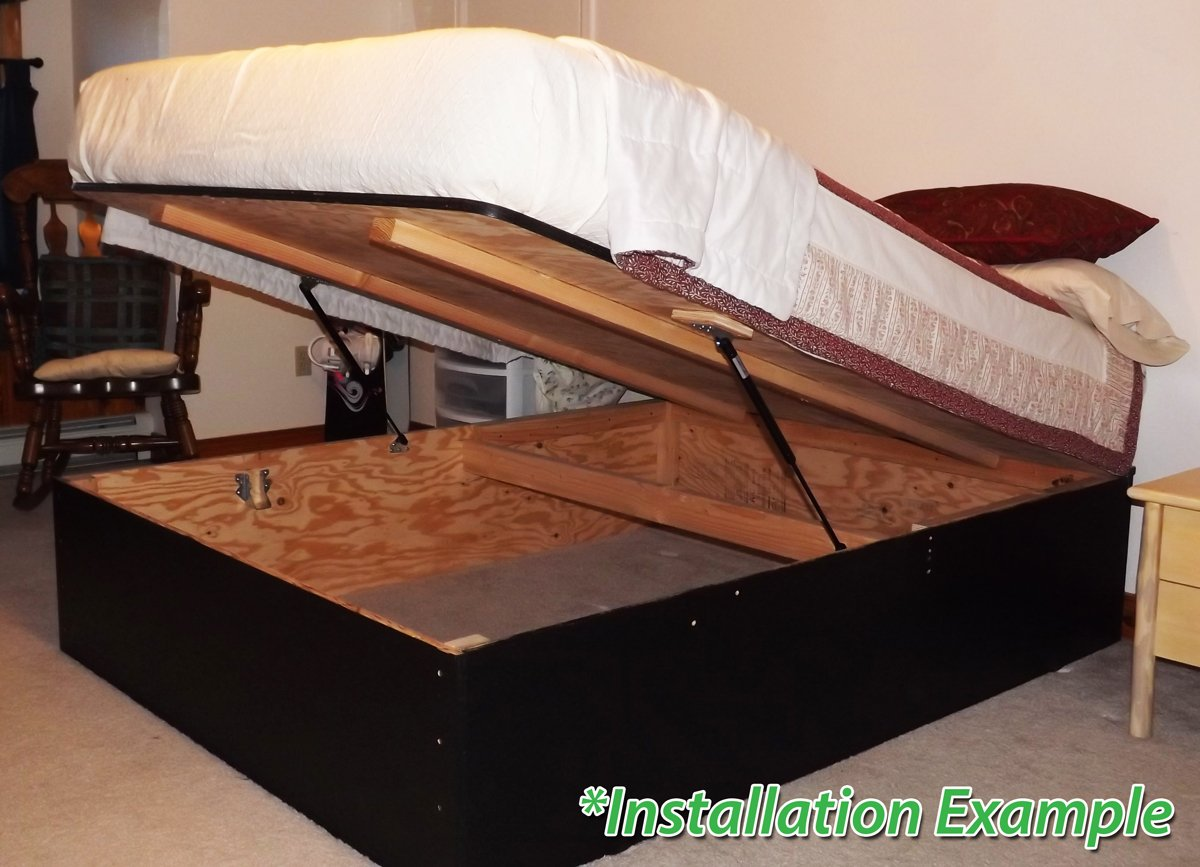 Platform Bedlift Kits Pblk Double Diy Under Bed Storage