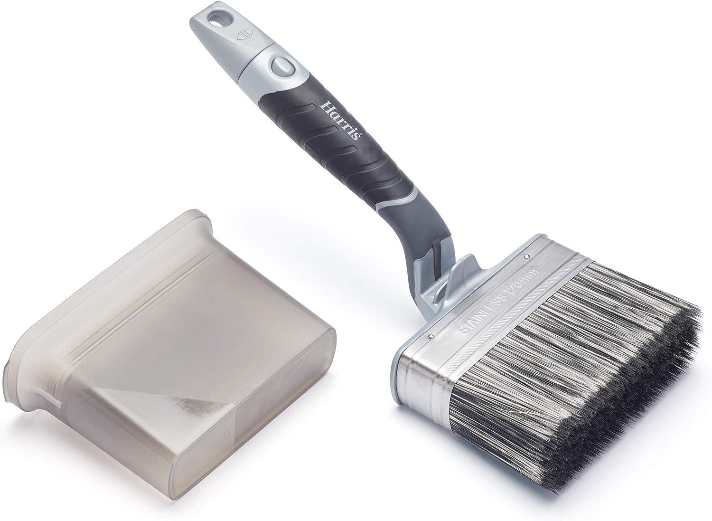 100mm Masonry Swanneck Paint Brush 100 mm Harris 103081000 Ultimate-Brocha de Pintura para mamposter/ía