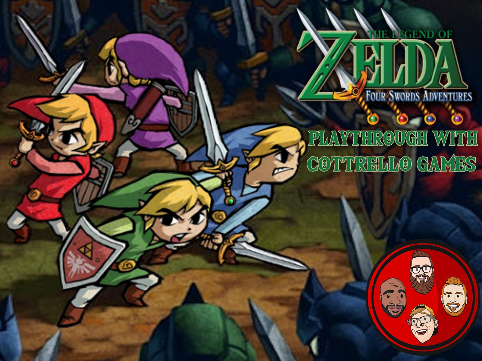 Clip: The Legend of Zelda: Four Swords Adventures Playthrough with Cottrello Games - Season 1