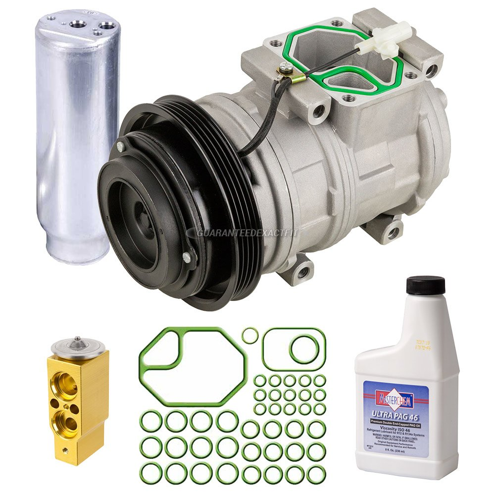 AC Compressor w/A/C Repair Kit For Toyota 4Runner 1996-2002 - BuyAutoParts 60-81354RK New