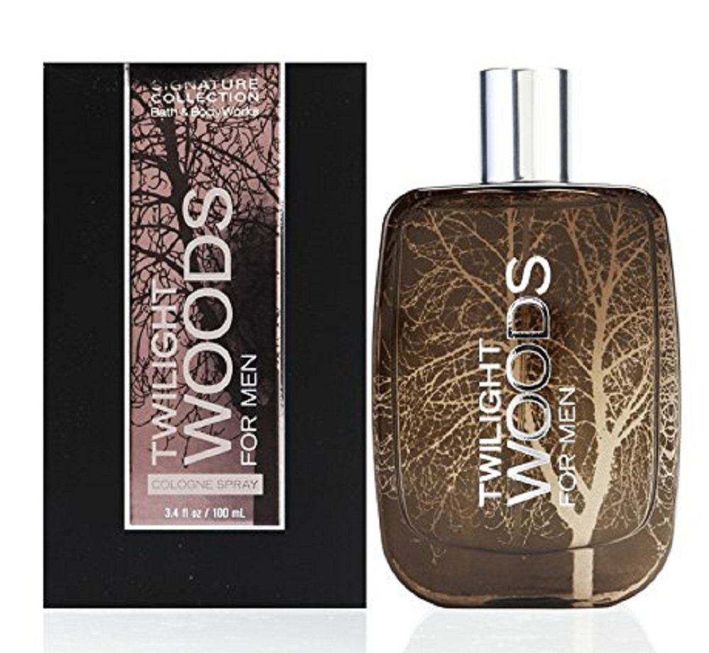 Bath and Body Works Twilight Woods for Men Cologne Spray 3.4 Ounce USA 667524935159