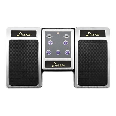 Donner Bluetooth Cambiador de Página Pedal de Música para iPad / Tableta Android / MAC /