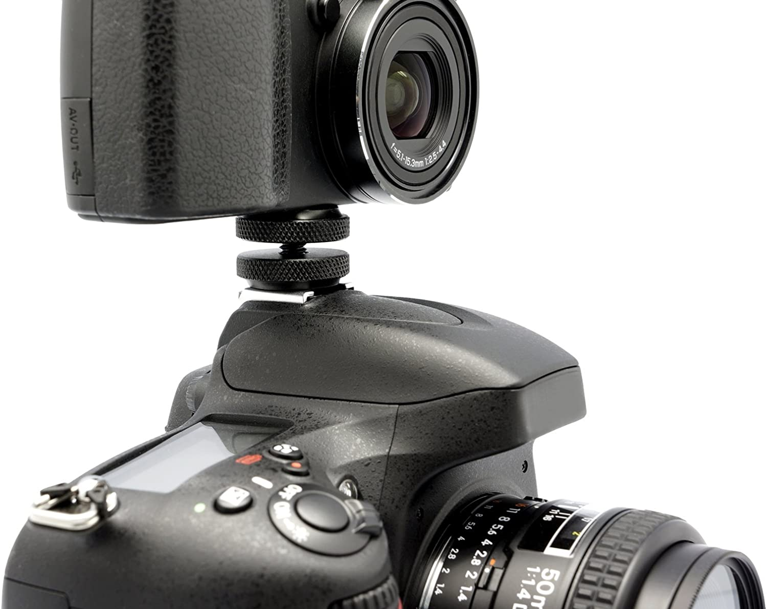 Gadget Place Hotshoe Screw with Twin Thumb Nut for Canon EOS R