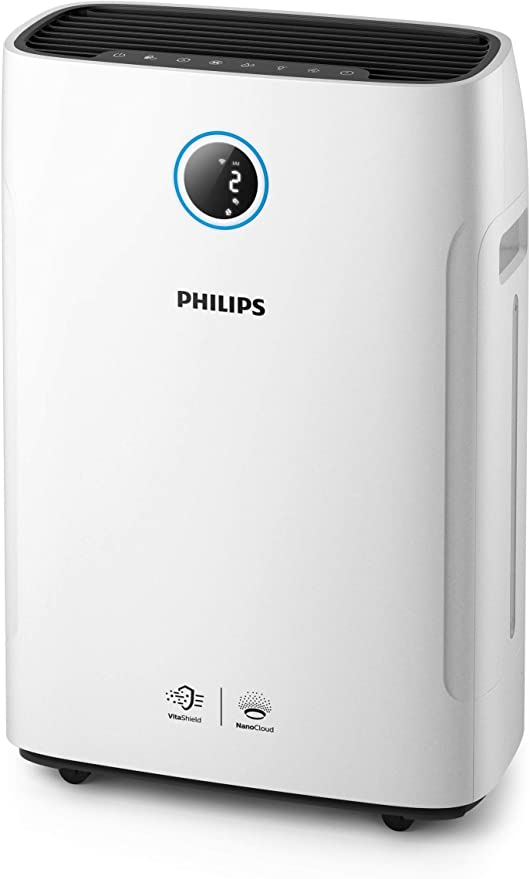 Philips AC2729/50 - Purificador de aire (250 m³/h, 65 m², 12 h, 1 ...