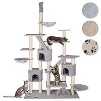 Happypet CAT013 Kratzbaum Katzenbaum deckenhoch in verschiedenen Farben
