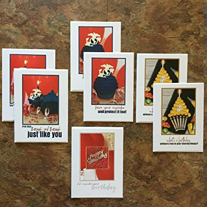 Amazon mb6300 us marine corps birthday cards lucky seven mixed mb6300 us marine corps birthday cards lucky seven mixed pack 7 greeting cards 7 m4hsunfo