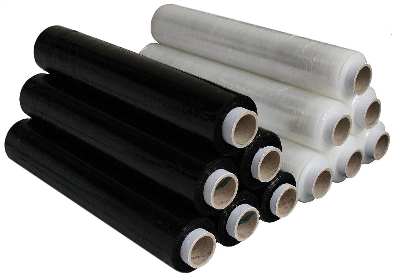 Triplast 400 mm x 250 m Pallet Stretch Shrink Wrap Black
