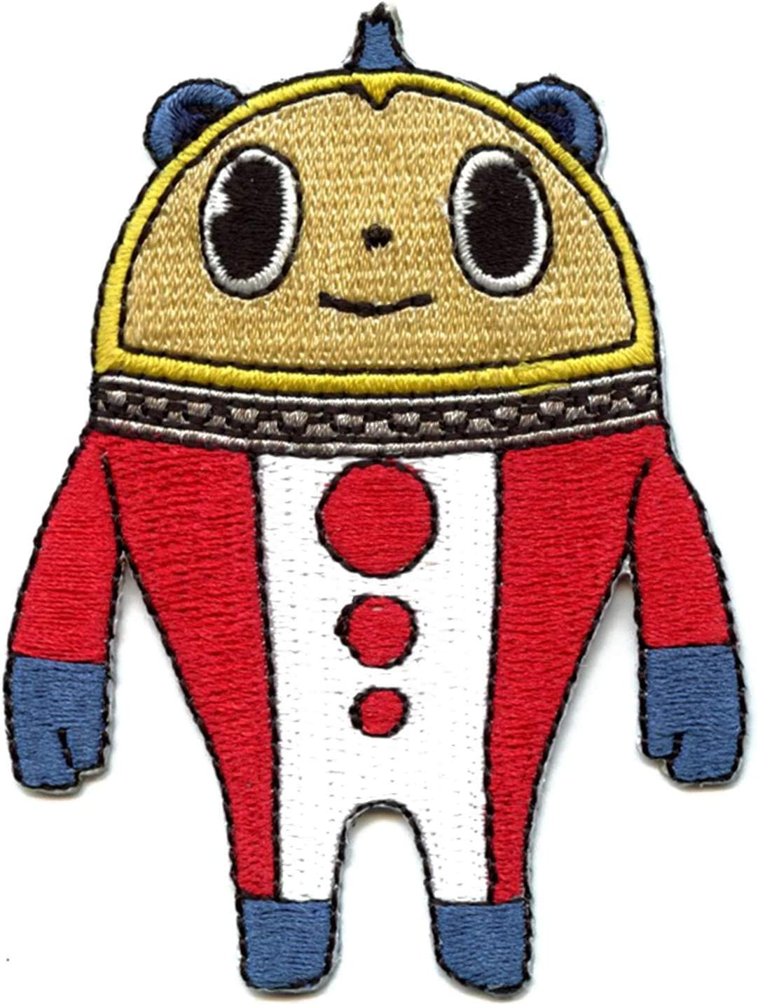 Amazon Com Persona 4 Teddie Kuma Patch Teddie (in his human form at least) being the beauty, yosuke (being one of the more strategic and helpful members) as the brains, and kanji (the big, scary, strong. persona 4 teddie kuma patch