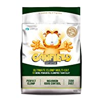Garfield Cat Litter Ultimate Clump, All Natural, Fast Clumping, 10lb