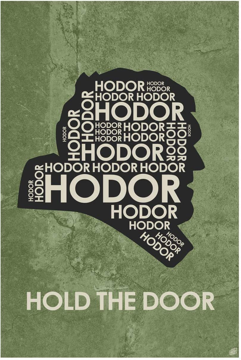 24 x 36 Northwest Art Mall by Artist Stephen Poon All WE Have to Decide Word Art Print Poster Gandalf All WE Have to Decide Word Art Print Poster 24 x 36 by Artist Stephen Poon