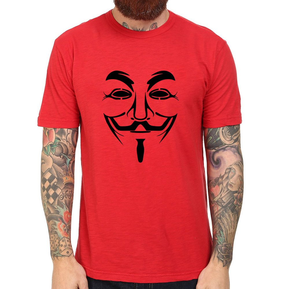 Loo Show Anonymous Mask T Shirts Tee