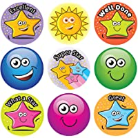 Sticker Solutions Hopping Stars and Smiles Reward Stickers (Pack of 180)