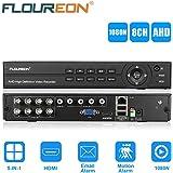 FLOUREON A7008NS DVR Vidéo Enregistreur 8CH 1080N AHD H.264 CCTV P2P HDMI Système Cloud Clé USB Détection de Mouvement Alarme Email Surveiller à Distance Accès Par PC Smartphone