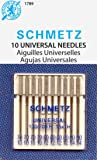 SCHMETZ Universal (130/705 H) Household Sewing Machine Needles - Carded - Assortment - 10 Pack