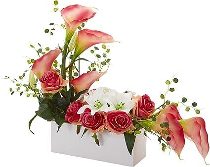 PK 4 LEMON FLOWER EMBELLISHMENT TOPPERS FOR CARDS
