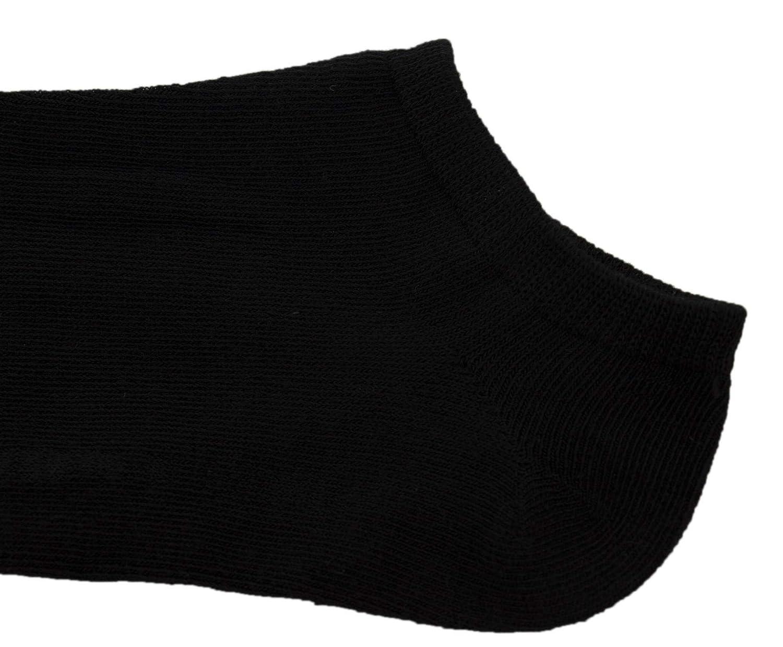 Fantasmini Invisibili Calze Corte Calze Basse Fitness Calzini Sneakers alla Caviglia in Morbido Cotone Mini Calze Uomo Donna Traspirante Tinta Unita Nero Bianco Grigio