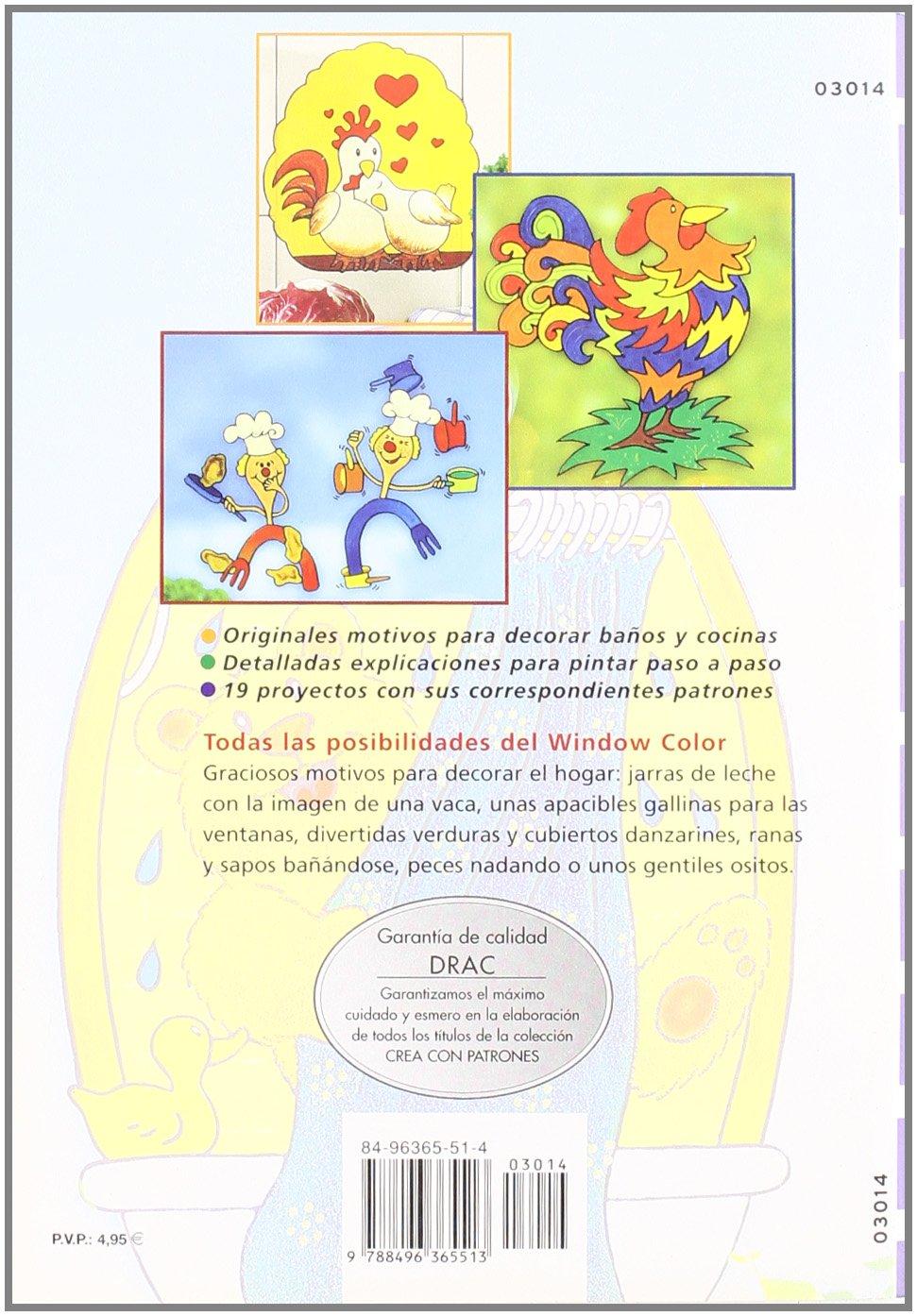 Nuevos Motivos para Colorear el Hogar con Window Color: WERNER / STURM, CAROLA SCHULTZ: 9788496365513: Amazon.com: Books