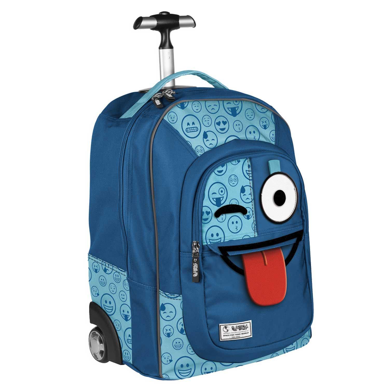 c7f7c4e5df Zaino Trolley Blu Sprint Emoticons Emoticons Emoticons Smile 47b3c8 ...