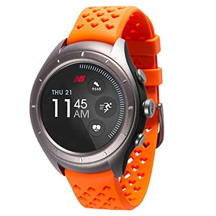 a6fe59287b1cd New Balance RunIQ Smartwatch, Orange, One Size: Amazon.in: Sports ...