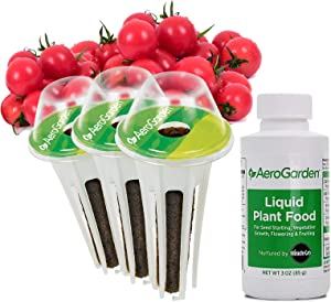 AeroGarden Mighty Mini Cherry Tomato Seed Pod Kit, 3, Green